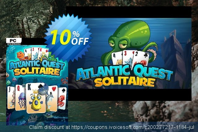 Atlantic Quest Solitaire PC discount 10% OFF, 2020 Halloween offering sales