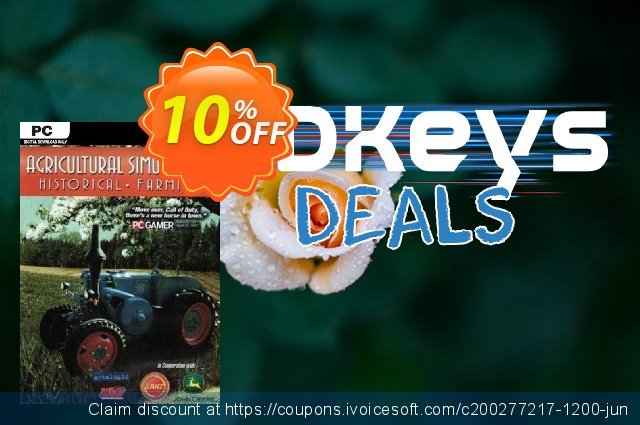 Agricultural Simulator Historical Farming PC discount 10% OFF, 2020 Halloween offering sales