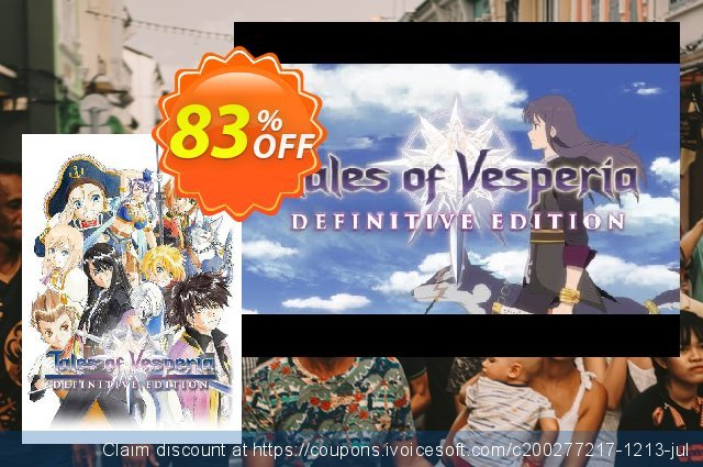 Tales of Vesperia Definitive Edition PC discount 54% OFF, 2020 Exclusive Student discount discount