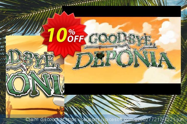 Goodbye Deponia PC discount 10% OFF, 2020 Halloween offering sales