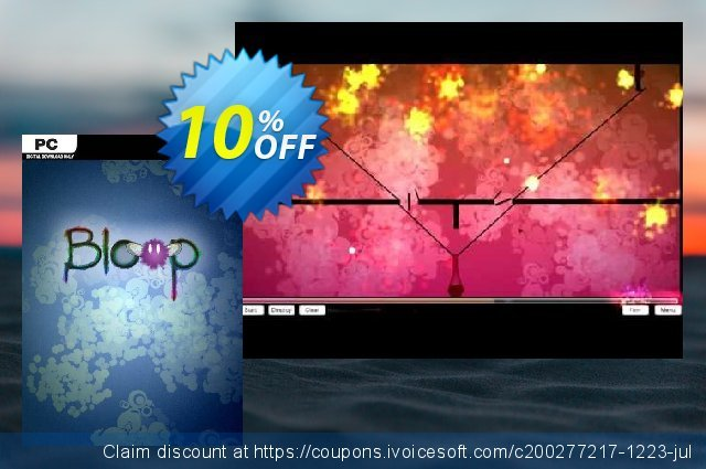 Bloop PC discount 10% OFF, 2020 Back to School promotion offering sales