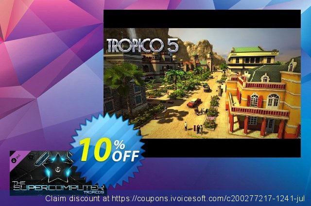 Tropico 5 The Supercomputer PC discount 10% OFF, 2020 College Student deals offering sales