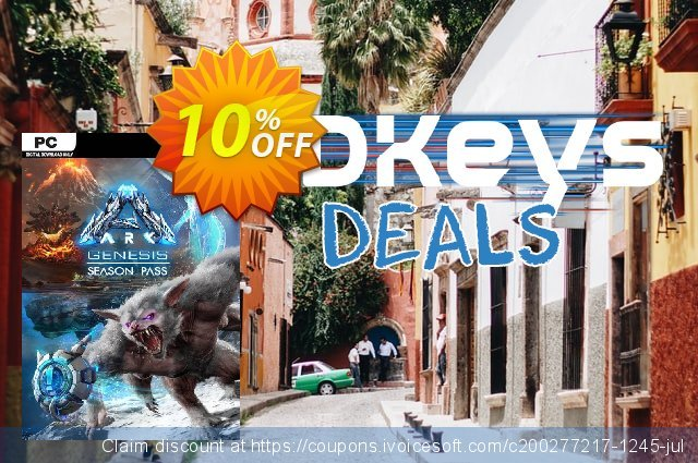 ARK: Genesis Season Pass PC discount 55% OFF, 2020 Back to School promo offering sales
