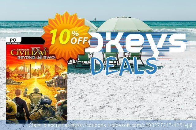 Civilization IV Beyond the Sword PC discount 10% OFF, 2020 Back to School coupons discount