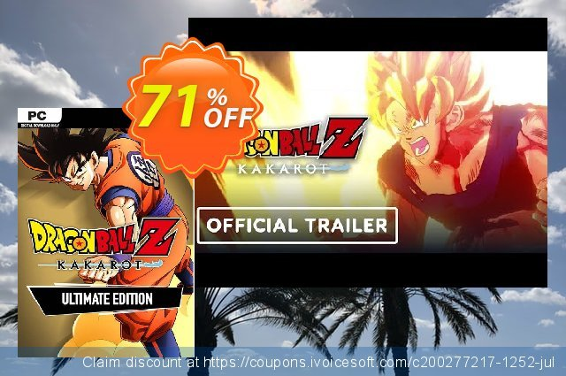 Dragon Ball Z: Kakarot Ultimate Edition PC discount 28% OFF, 2020 Back to School season offering discount