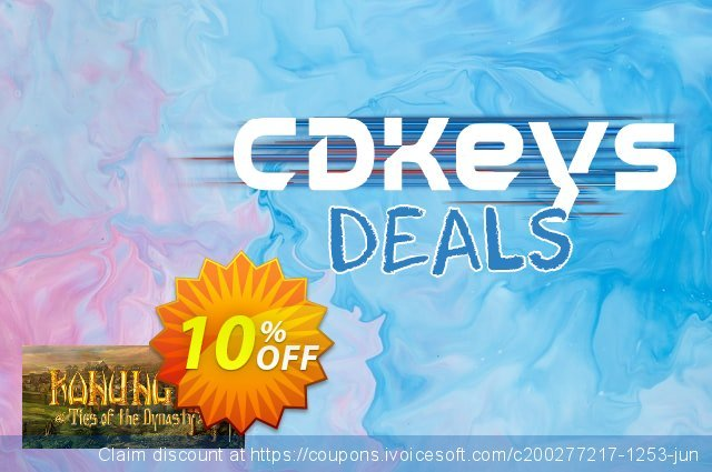 Konung 3 Ties of the Dynasty PC discount 10% OFF, 2020 Back to School season offering discount