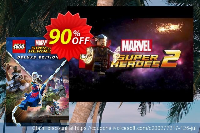Lego Marvel Super Heroes 2 Deluxe Edition PC discount 87% OFF, 2021 Mother Day offering sales. Lego Marvel Super Heroes 2 Deluxe Edition PC Deal