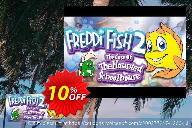 Freddi Fish 2 The Case of the Haunted Schoolhouse PC 令人惊讶的 产品销售 软件截图