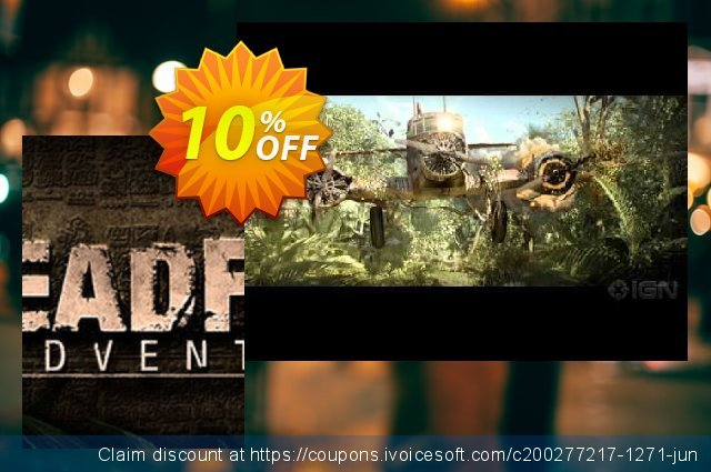 Deadfall Adventures PC discount 10% OFF, 2020 Back to School offer offering discount