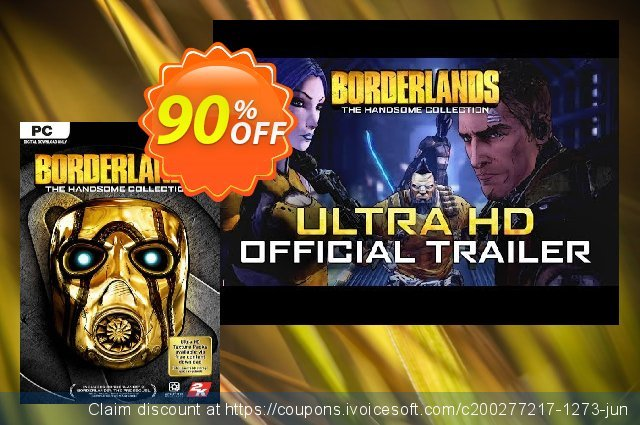 Borderlands: The Handsome Collection PC (EU) 令人敬畏的 产品销售 软件截图