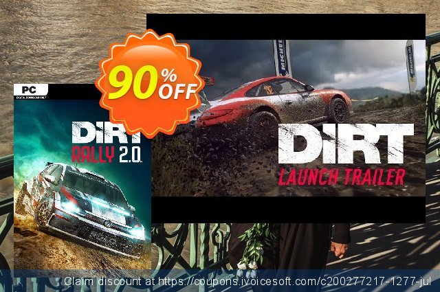 Dirt Rally 2.0 PC DLC discount 90% OFF, 2020 Halloween offering sales