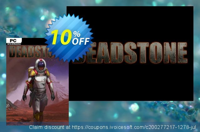 Deadstone PC discount 10% OFF, 2020 University Student offer offering sales