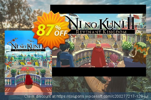 Ni No Kuni II: Revenant Kingdom PC discount 84% OFF, 2021 Mother's Day offering sales. Ni No Kuni II: Revenant Kingdom PC Deal