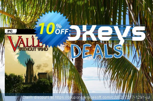 A Valley Without Wind PC discount 10% OFF, 2020 Back to School shopping offering sales
