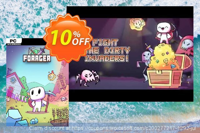 Forager PC discount 10% OFF, 2020 Back to School offer offering deals
