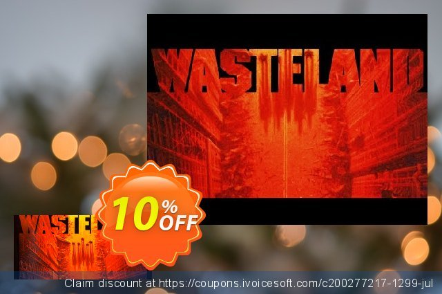 Wasteland 1 The Original Classic PC discount 10% OFF, 2020 University Student offer offering sales