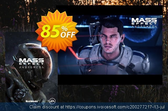 Mass Effect Andromeda PC discount 92% OFF, 2021 Mother's Day offering sales. Mass Effect Andromeda PC Deal