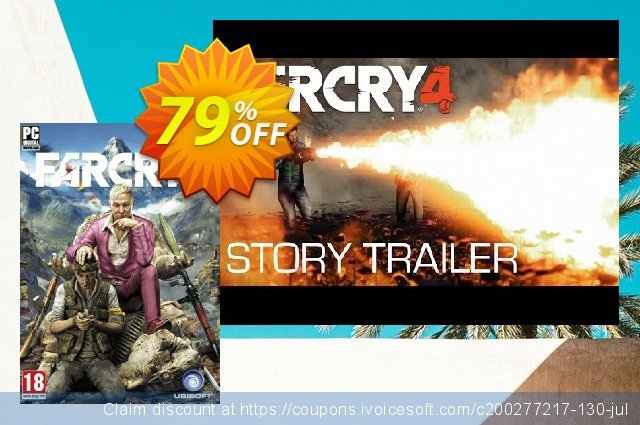 Far Cry 4 PC discount 69% OFF, 2020 Back to School Promos offer