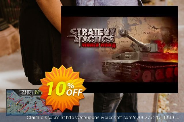 Strategy & Tactics Wargame Collection PC discount 10% OFF, 2020 Halloween offering sales