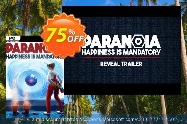 Paranoia - Happiness is Mandatory PC discount 64% OFF, 2020 College Student deals offering sales