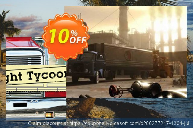 Freight Tycoon Inc. PC discount 10% OFF, 2020 College Student deals promotions