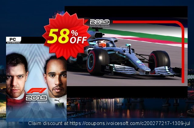 F1 2019 PC discount 73% OFF, 2020 Back to School event offering discount