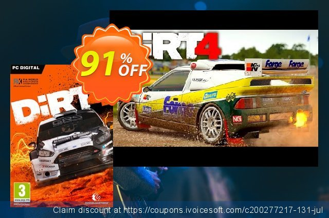 Dirt 4 PC discount 95% OFF, 2021 Mother's Day promotions. Dirt 4 PC Deal