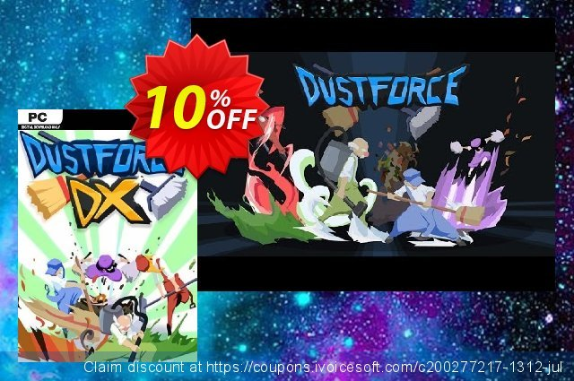 Dustforce DX PC discount 10% OFF, 2020 Back to School shopping promo sales