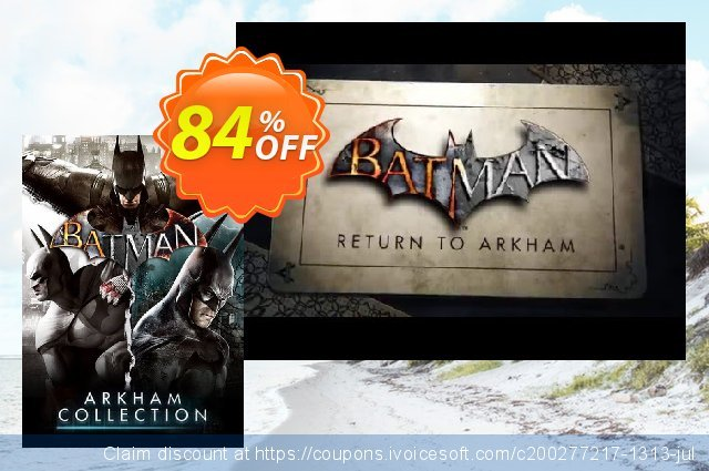 Batman: Arkham Collection PC discount 72% OFF, 2020 Back to School offer promo