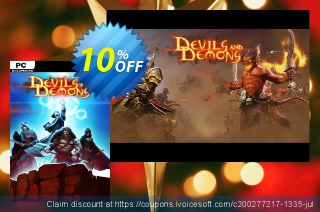 Devils & Demons PC discount 10% OFF, 2020 Back to School coupons offering sales