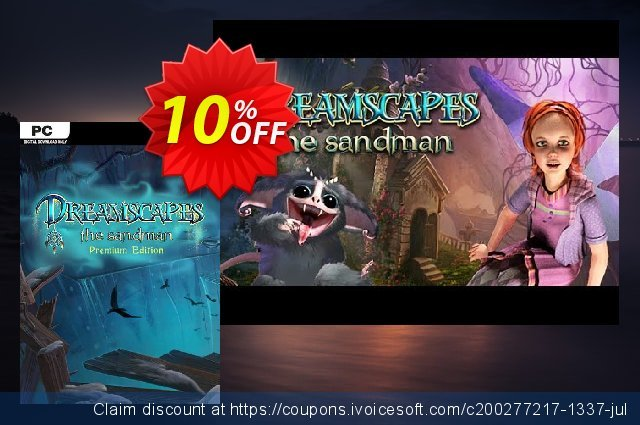 Dreamscapes The Sandman Premium Edition PC  최고의   프로모션  스크린 샷