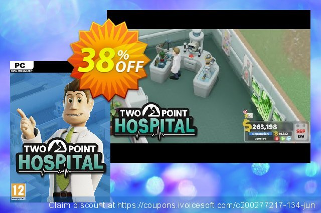 Two Point Hospital PC (EU) discount 29% OFF, 2021 Mother Day offer. Two Point Hospital PC (EU) Deal