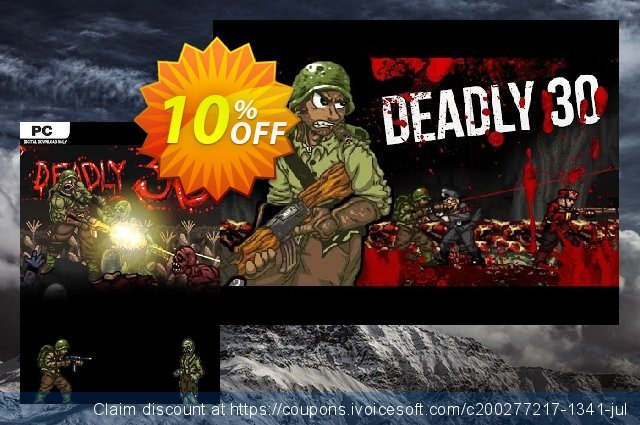 Deadly 30 PC discount 10% OFF, 2020 University Student offer discounts