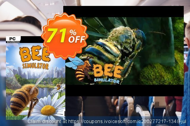 Bee Simulator PC discount 59% OFF, 2020 Back to School Promos offering sales