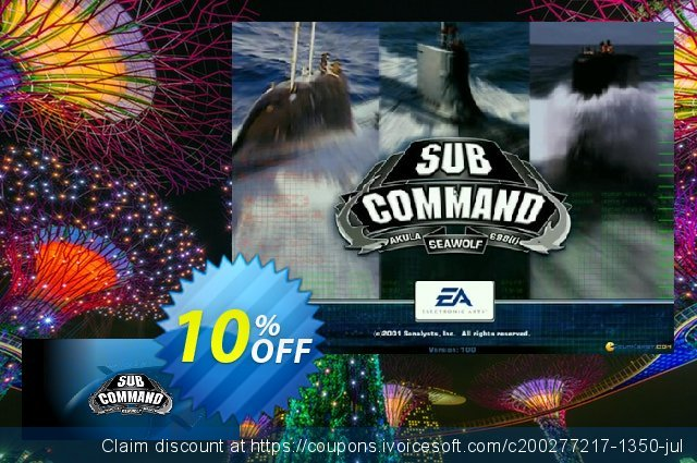 Sub Command PC discount 10% OFF, 2020 Halloween promo