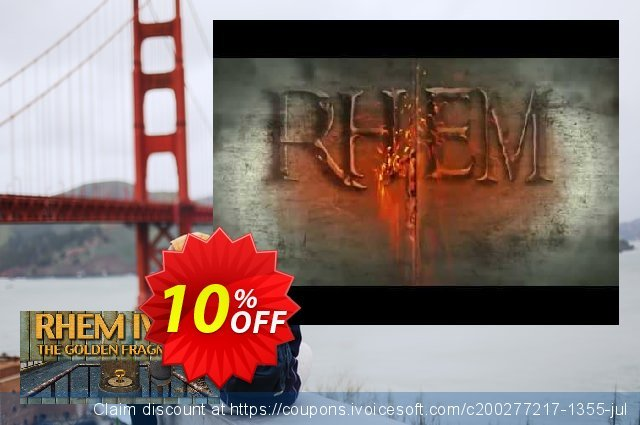 RHEM IV The Golden Fragments SE PC discount 10% OFF, 2020 Halloween offering sales