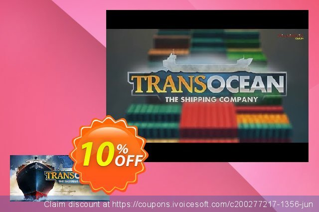 TransOcean The Shipping Company PC discount 10% OFF, 2020 Back to School coupons offering sales