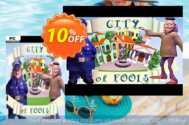 City of Fools PC discount 10% OFF, 2020 Exclusive Student deals offering sales