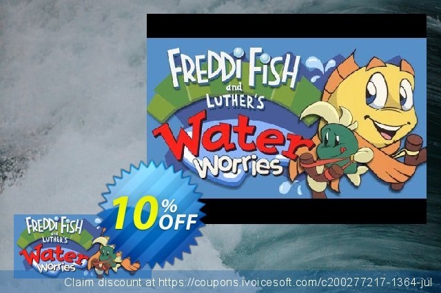 Freddi Fish and Luther's Water Worries PC 独占 产品销售 软件截图