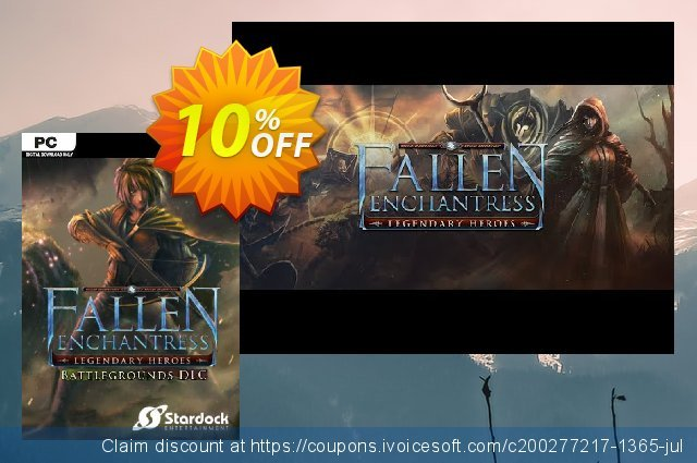 Fallen Enchantress Legendary Heroes Battlegrounds DLC PC  대단하   할인  스크린 샷