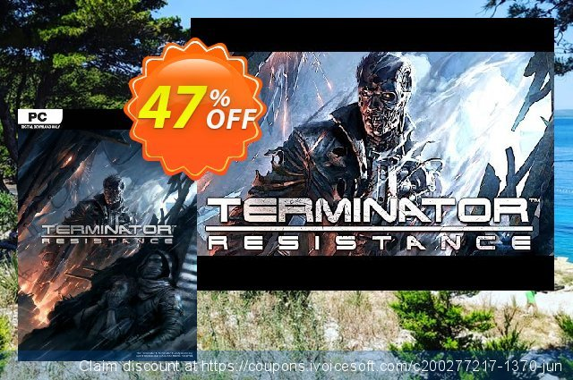 Terminator: Resistance PC discount 10% OFF, 2020 Back to School promotion promo
