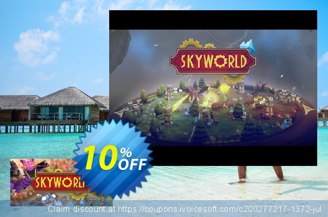 Skyworld PC discount 10% OFF, 2020 Back to School event offering sales