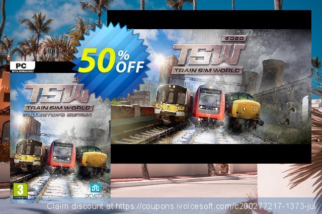 Train Sim World 2020 - Collector's Edition PC discount 55% OFF, 2020 Back-to-School promotions offering sales