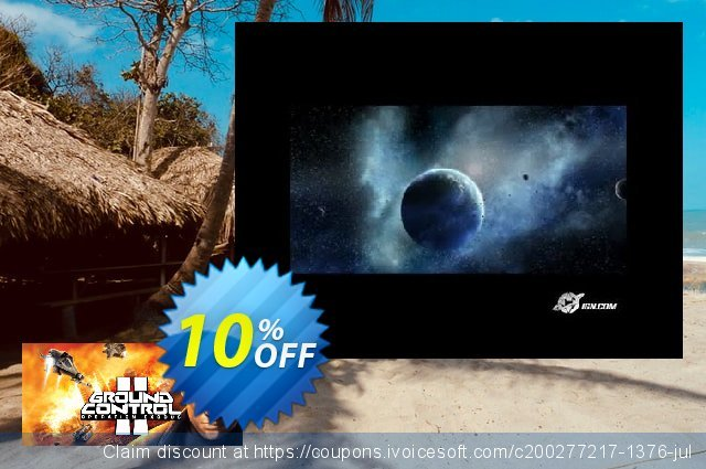 Ground Control II Operation Exodus PC discount 10% OFF, 2020 Back to School offer offering sales