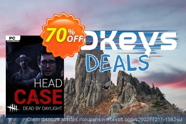 Dead by Daylight PC - Headcase DLC discount 75% OFF, 2020 Back to School promo offering sales