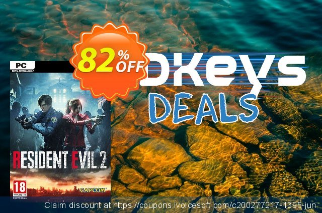 Resident Evil 2 / Biohazard RE:2 PC (EMEA) discount 71% OFF, 2020 Back to School deals offering sales