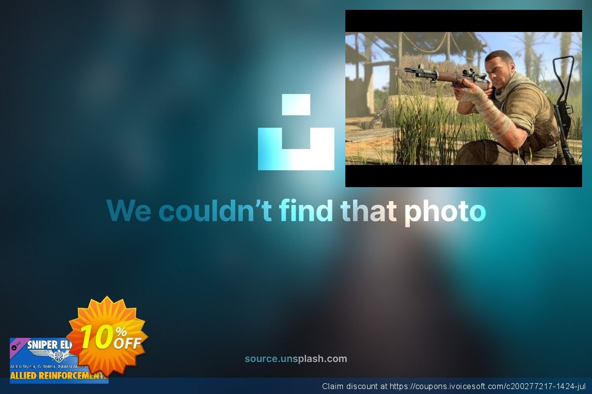 Sniper Elite 3 Allied Reinforcements Outfit Pack PC  대단하   제공  스크린 샷