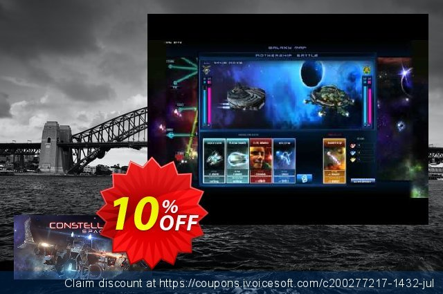 Spaceforce Constellations PC discount 10% OFF, 2020 Back to School Promos offering sales