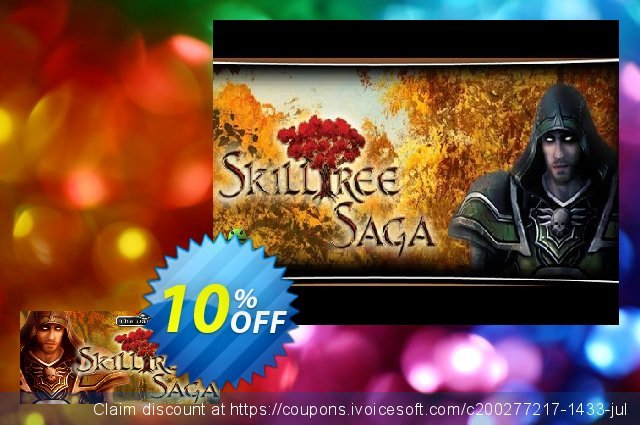 Skilltree Saga PC discount 10% OFF, 2020 Back to School promotion offering sales