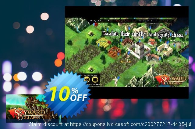 Skyward Collapse PC discount 10% OFF, 2020 Back to School event offering sales